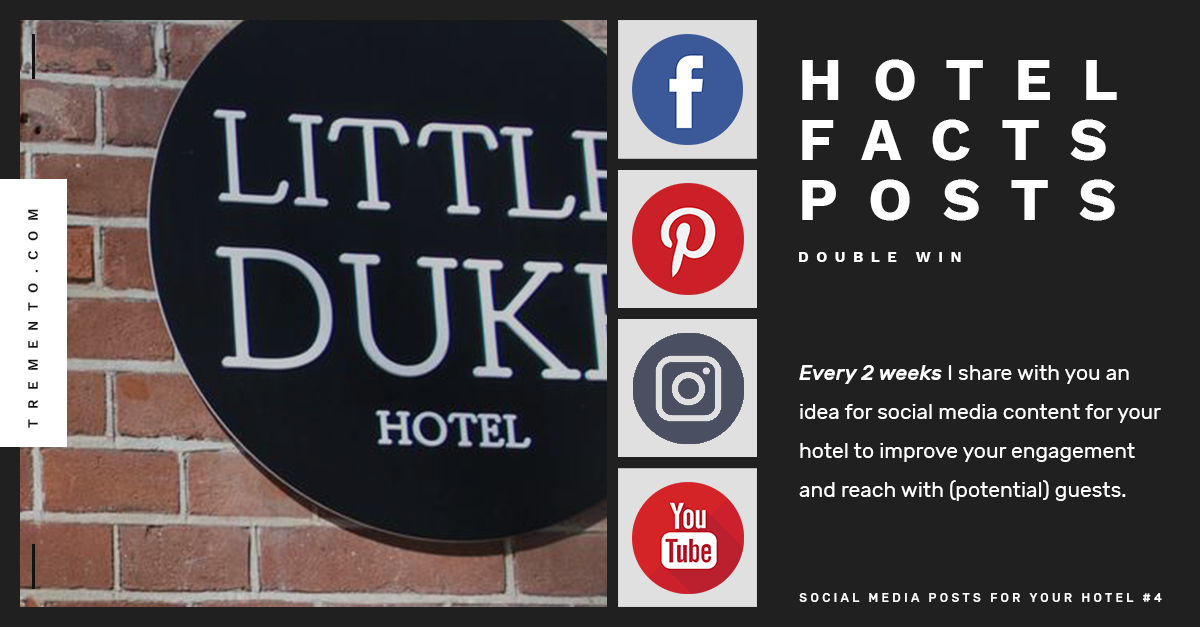 Share hotel facts in a fun way – SOCIAL MEDIA FOR HOTELS #4 – Tremento