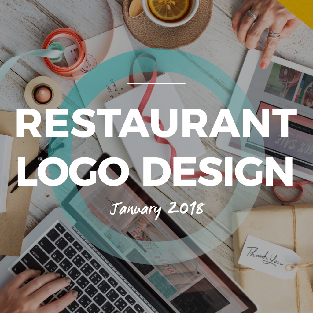 Restaurant Logo Design January 2018 - Inspiration for restaurant, cafés, lunch room, coffee shop