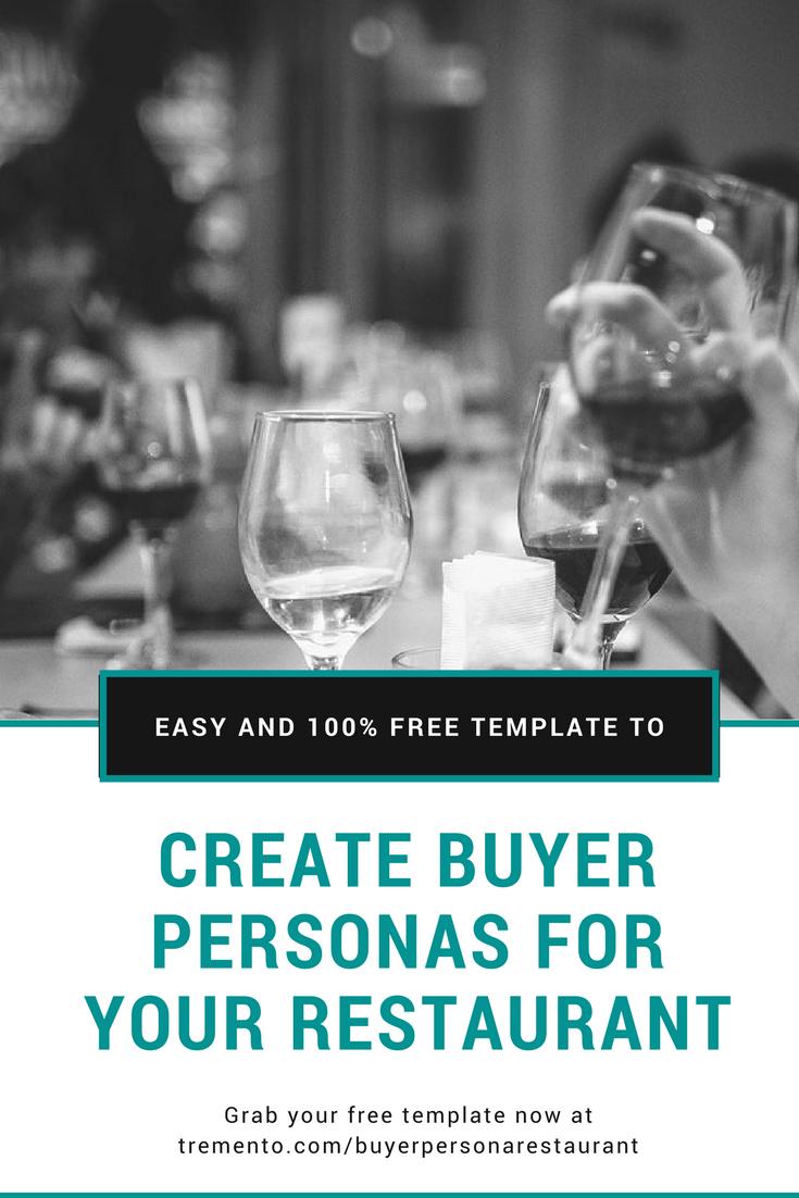 Buyer persona for restaurant café bar guide
