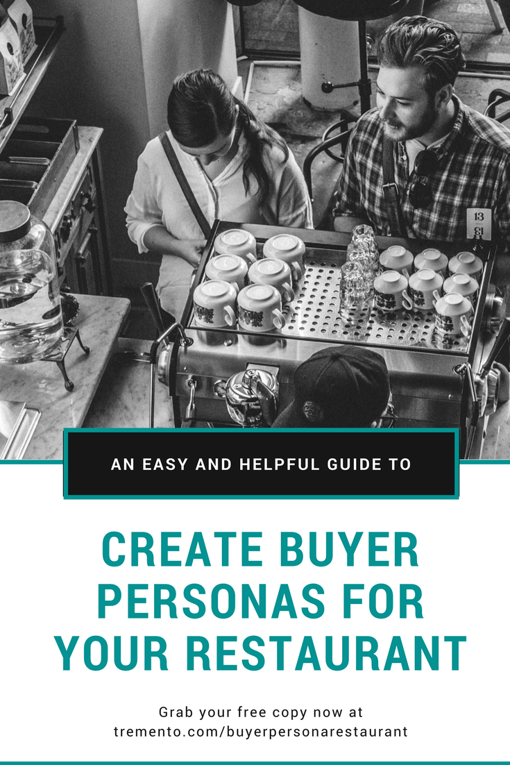 How to create buyer personas for your restaurant, café or bar guide