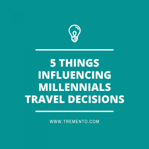 How do Millennials make travel decisions? Important aspects are authenticity, instagram, search engines and reviews.