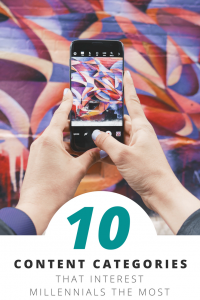 The top 10 content categories to engage Millennials