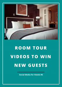 Room tour videos for your hotel's or hospitality brand's social media