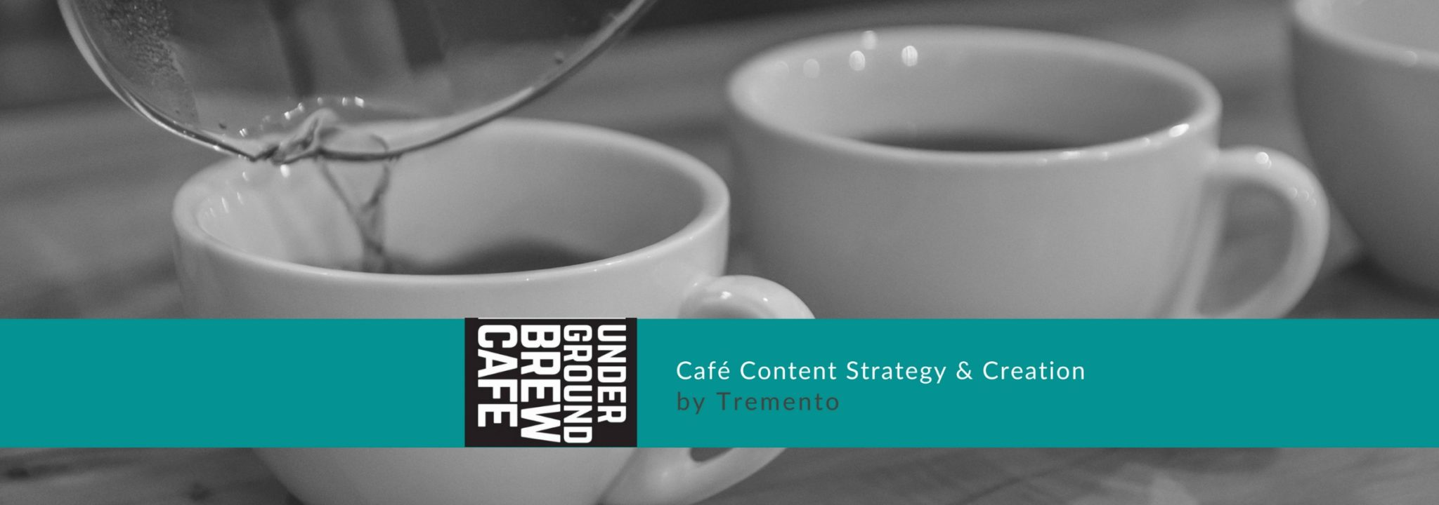 Underground Brew Café - Content Strategy & Creation - Hospitality Advertising Agency Tremento