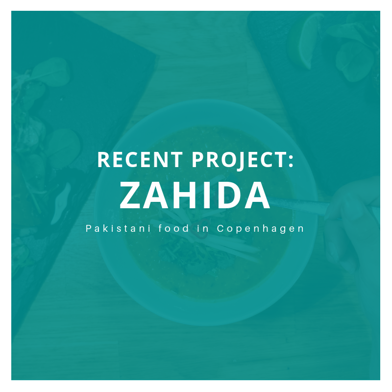 Zahida Restaurant Photography Copenhagen by Tremento