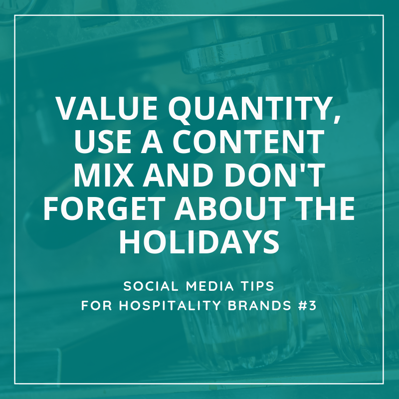 Social Media Tips Tremento for Hospitality
