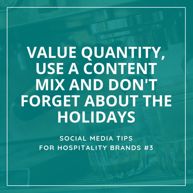 Social Media Tips Tremento for Hospitality
