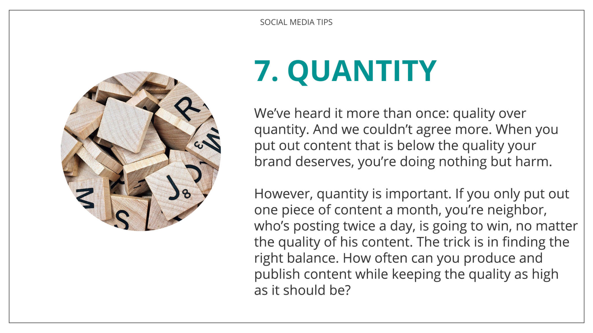 Social Media Tips Tremento for Hospitality 7