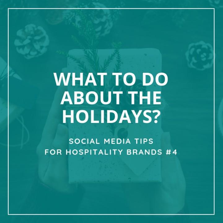 Christmas - Holiday Social Media - Hospitality - Tremento Tips