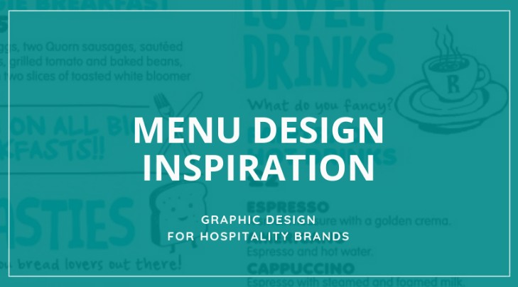 Menu Design: inspiration and creative ideas – Tremento