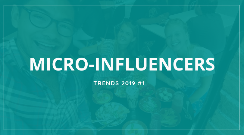 Micro-Influencers for hotels, restaurants, cafés 2019 trends- Tremento Hospitality Advertising