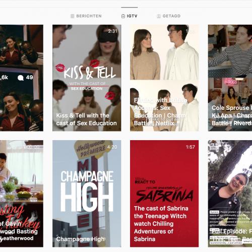 IGTV - Netflix