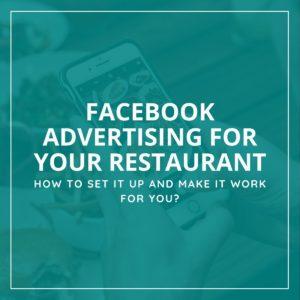 Facebook Ads For Restaurant Businesses