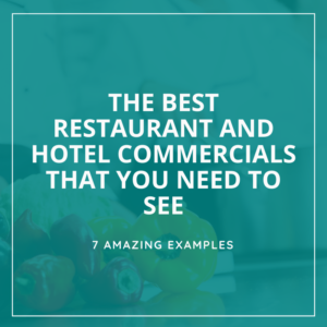 7 hotel commercial ideas