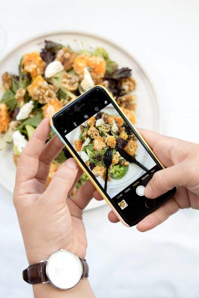 Instagram for restaurant