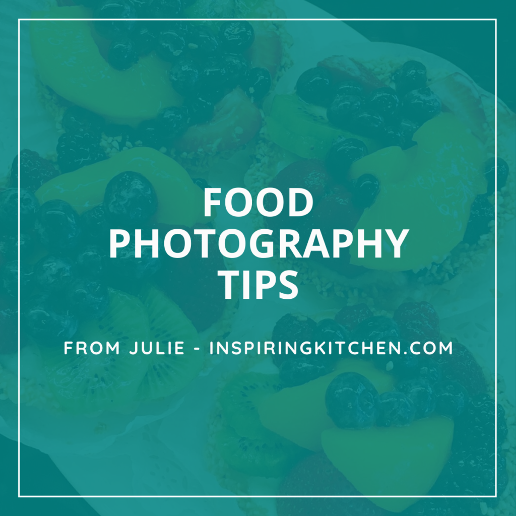 How to improve food photography tips