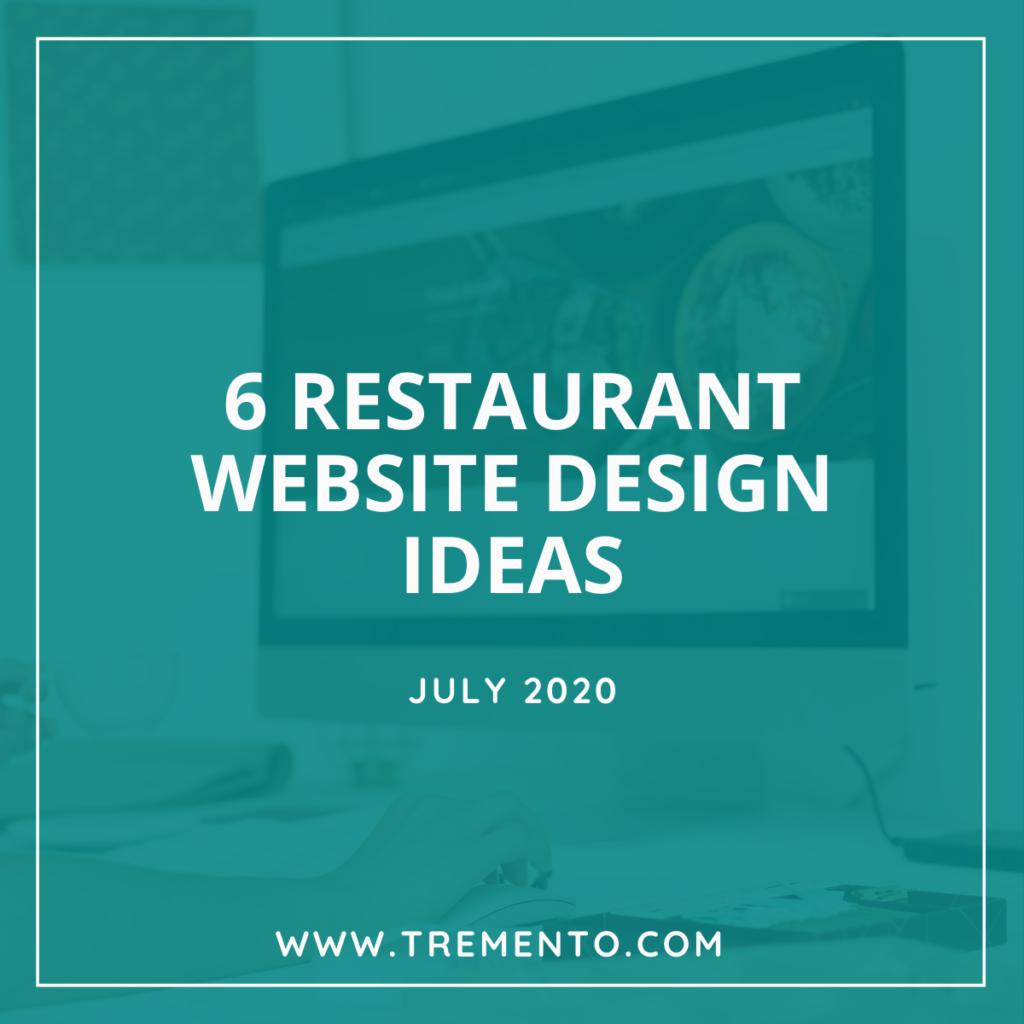 Restaurant Website Design Ideas - 6 examples