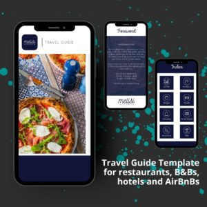 Travel Guide Template Mockup