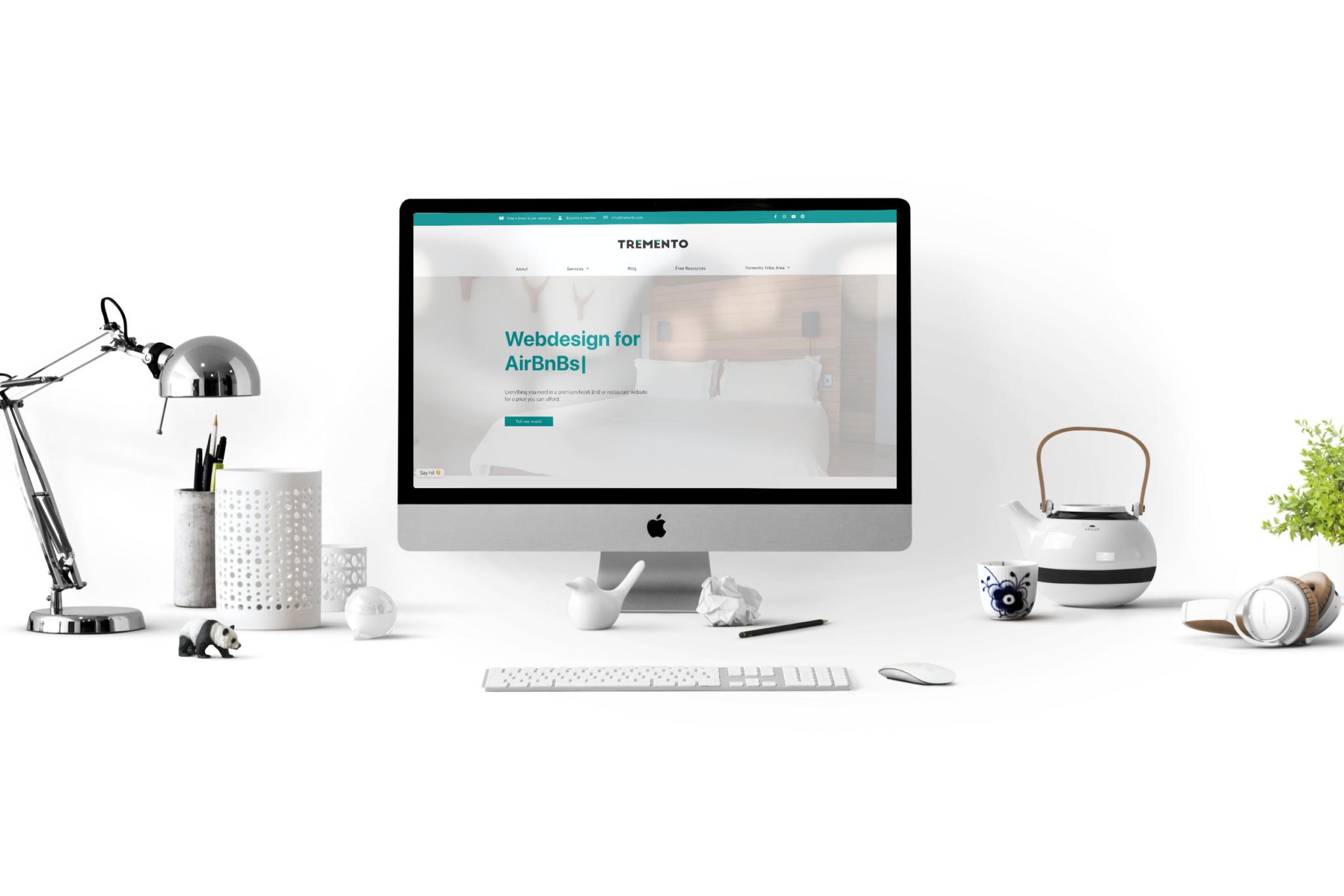 Tremento Hotel Website Design